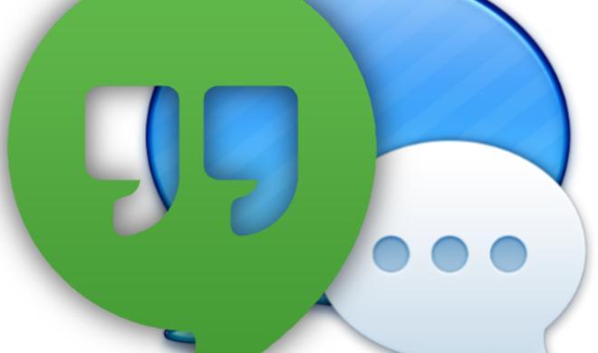 Von Google Talk zu Google Hangouts: Update kappt Kompatibilität mit Nachrichten.app