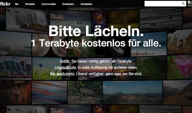 flickr-Relaunch: 1 Terabyte Speicherplatz kostenlos für alle