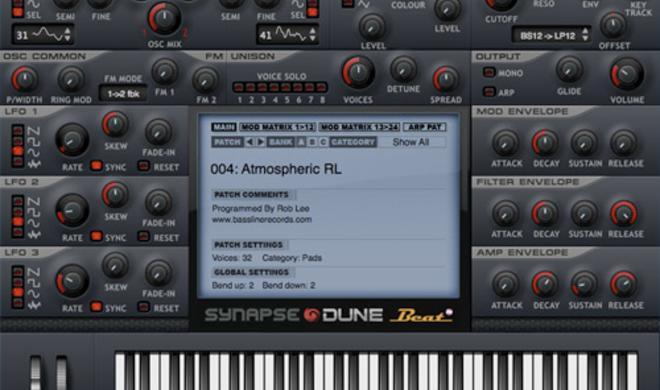 === Kostenloser Megasynth: Synapse Audio DUNE LE ===