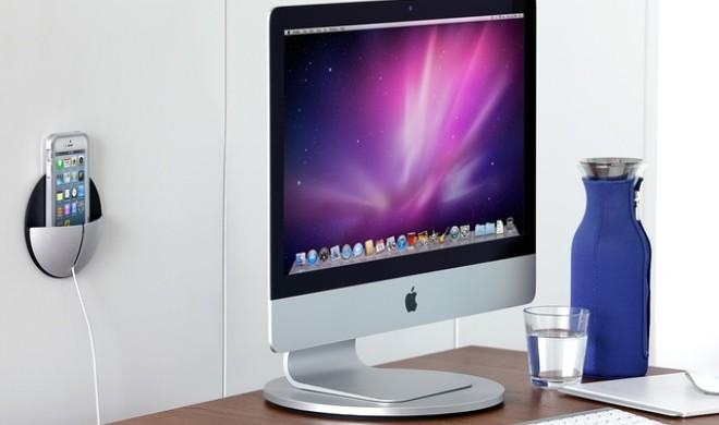 AluPocket und AluDisc: Just Mobile enthüllt iPhone-Wandhalterung und iMac-Drehteller