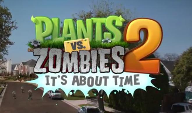 Plants vs. Zombies 2 erscheint am 18. Juli