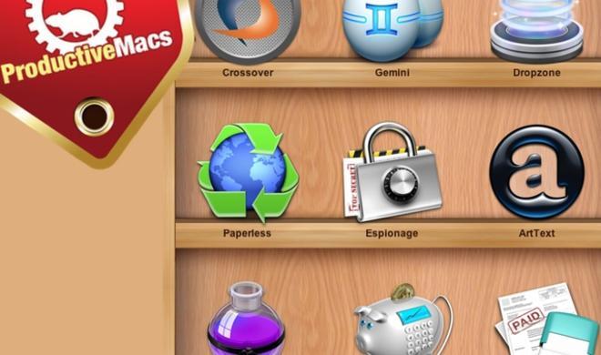 Neues ProductiveMacs-Bundle: 9 tolle Mac-Anwendungen für weniger als 30 Euro