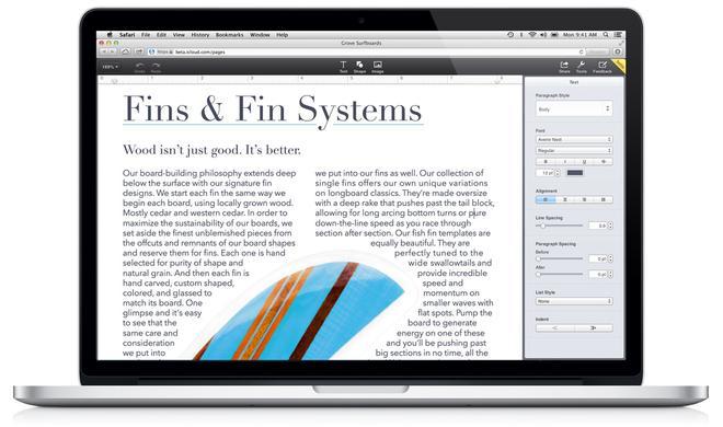 """WWDC 2013: """"iWork für iCloud"""" angekündigt, Beta-Test gestartet"""