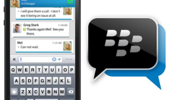 BlackBerry Messenger für iOS im App Store erhältlich