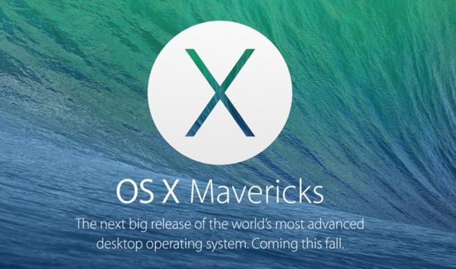 Apple enthüllt OS X Mavericks