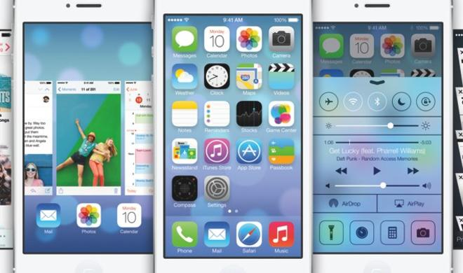 Galerie: So sieht das neue iPhone-Betriebssystem iOS 7 aus