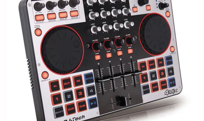 DJ-Tech 4MIX - DJ-Controller mit Audio-Interface