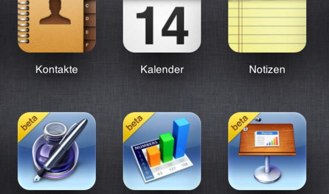 Apple startet iWork for iCloud Beta