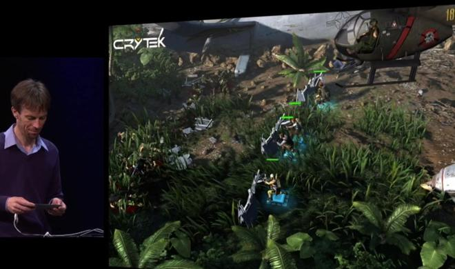 Crytek zeigt neues iOS-Spiel mit MFi-Gamepad-Support auf der WWDC
