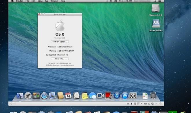 OS X Mavericks via Parallels gefahrlos ausprobieren