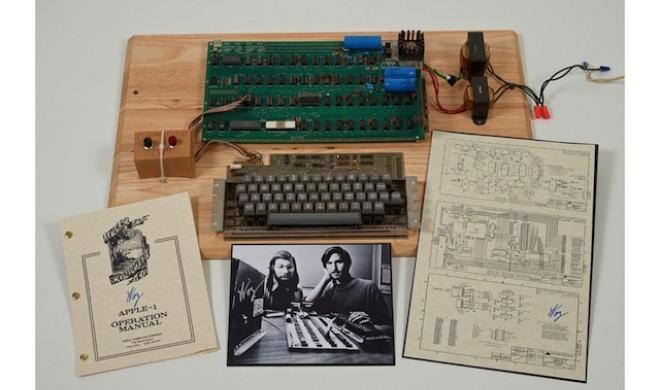Sammlerstück: Apple-I-Computer für rund 300.000 Euro versteigert