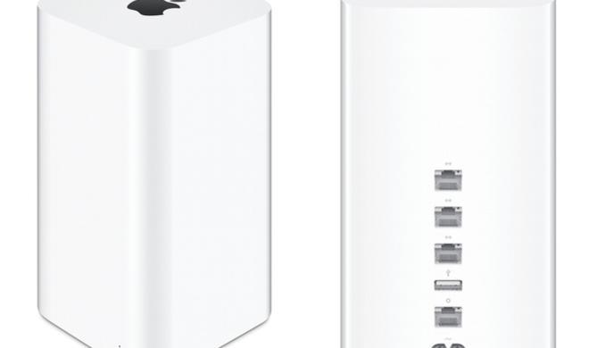 Apple stellt Firmware-Updates für AirPort Extreme und Time Capsule bereit