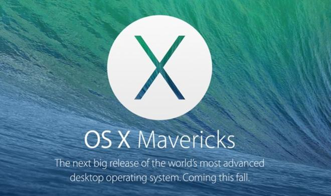 Apple lässt OS X Mavericks 10.9.3 Build 13D38 testen