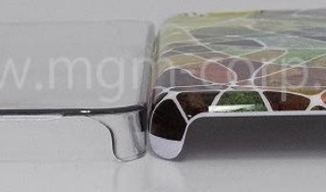 """""""Billig-iPhone"""": Erste Hülle gesichtet, suggeriert dickeres Gerät mit abgerundeten Kanten"""