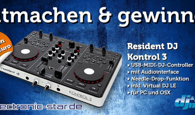 Mitmachen & gewinnen: Resident DJ Kontrol 3