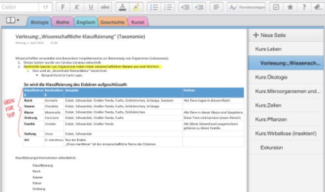 Microsoft veröffentlicht großes OneNote-Update für iOS