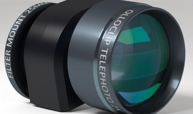 Olloclip stellt Teleobjektiv für das iPhone vor