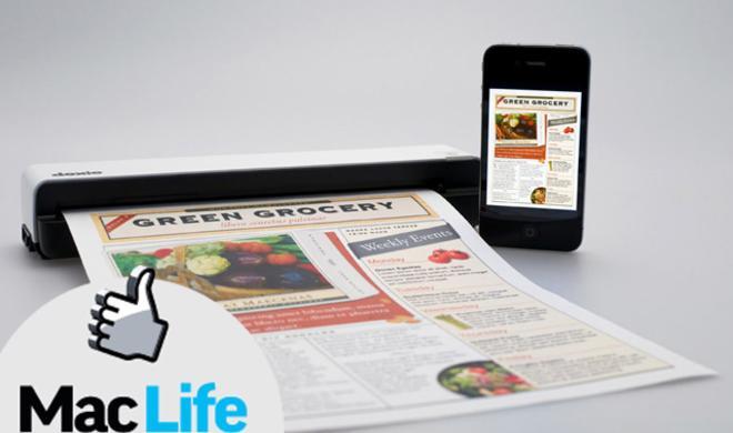 Editor's Choice: Doxie Go, kompakter Einzugscanner für Mac, iPhone und iPad