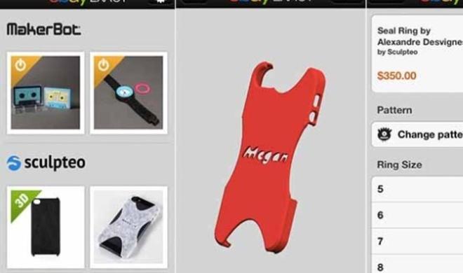 eBay Exact: Neue App für iPhone-Hüllen und Schmuck aus dem 3D-Drucker