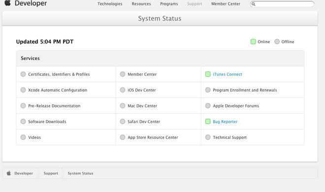 Apple informiert über Neustart der Entwicklerseite