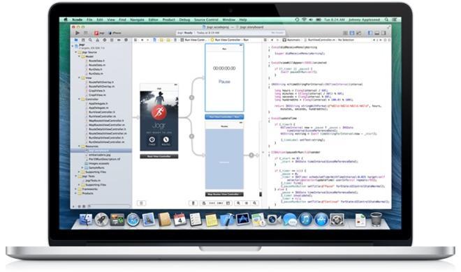 Xcode 6 erlaubt Tests auf größeren iPhones und iPads