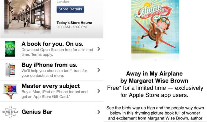 Apple verteilt kostenlose eBooks über Apple-Store-App