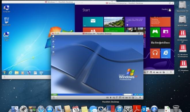 Parallels 9 kommt, Apple Stores zeigen Parallels mit Windows 8