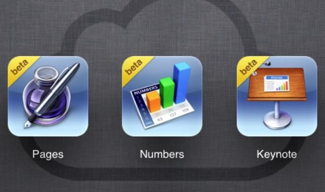 Apple schaltet iWork für iCloud.com Beta für alle Anwender frei