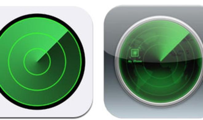 """Apple veröffentlicht """"Mein iPhone suchen""""-Update mit iOS7-Icon"""