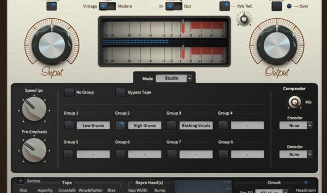 U-He Satin - Bandmaschine hoch zwei