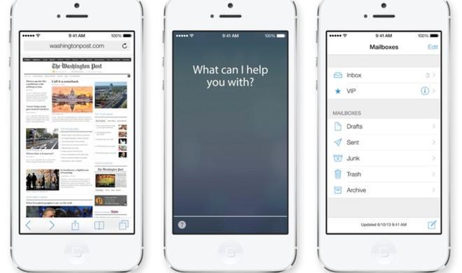 iOS 7 ist bereits die meist genutzte iOS-Version