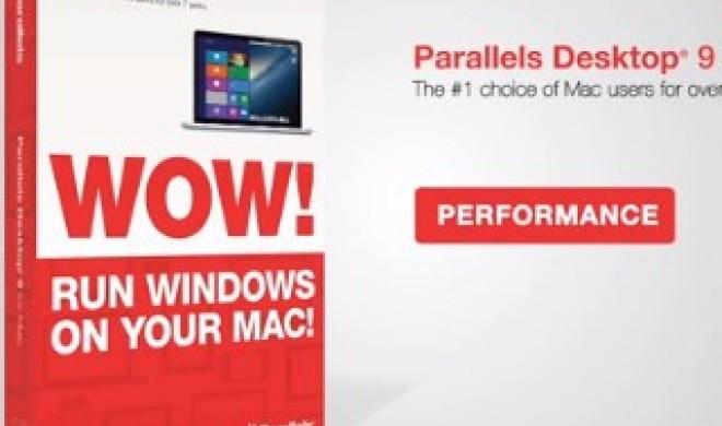 Parallels Desktop 9: Upgrade der Virtualisierungsumgebung bereits erhältlich, Vollversion ab 5. September verfügbar