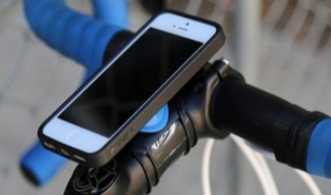 Am Fahrrad, im Auto oder an der Wand: Quad Lock präsentiert universelle iPhone-Halterung