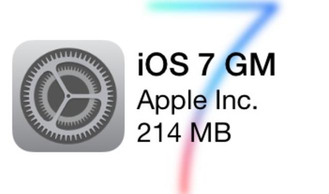 iOS 7 GM mit neuen Hintergründen und Klingeltönen veröffentlicht