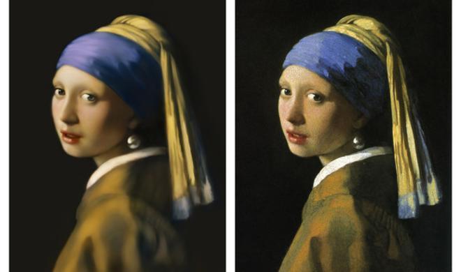 Netzfundstück: Japanischer Künstler malt Vermeer-Gemälde nach