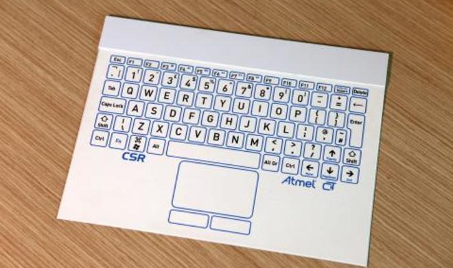 IFA: Dünnste Bluetooth-Tastatur der Welt vorgestellt