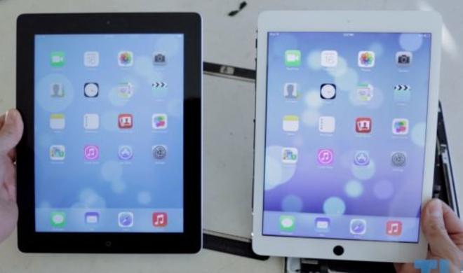 Selbstgebautes iPad 5 und iPad 4 im Videovergleich