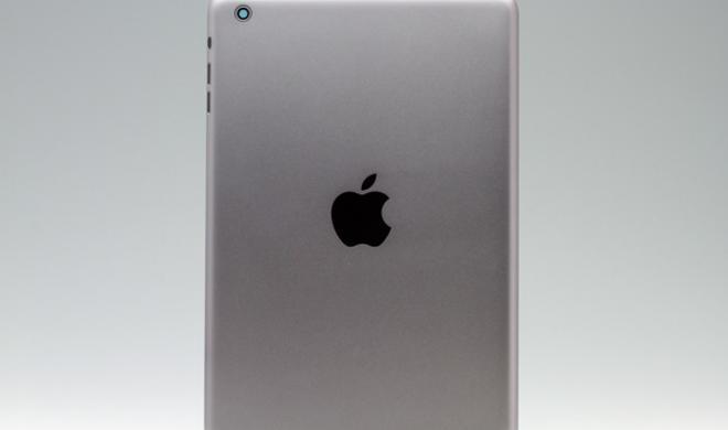 Spacegrau: iPad-mini-Bauteile in Apples neuer Lieblingsfarbe gesichtet