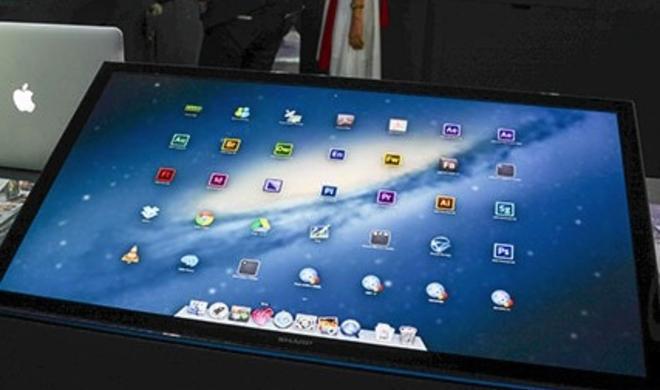 Sharp zeigt 32-Zoll-4K-Touch-Display mit OS X