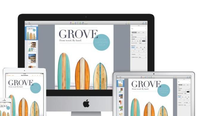 Apple aktualisiert iWork für Mac, iOS und iCloud