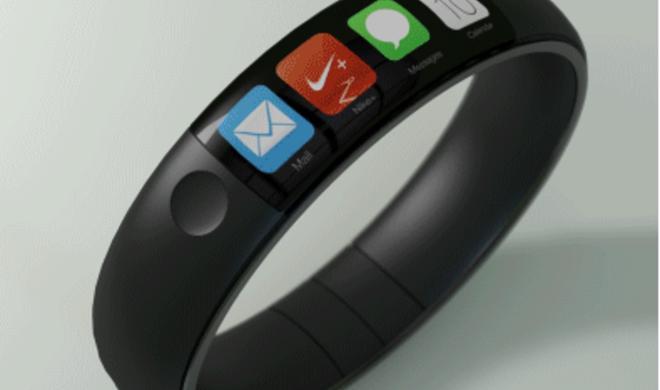 iWatch-Konzept zeigt Apple-Uhr als Armband