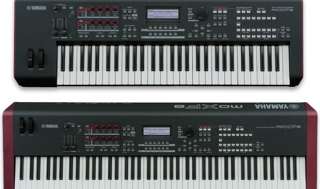 Yamaha MOXF6 und MOXF8 Synthesizer