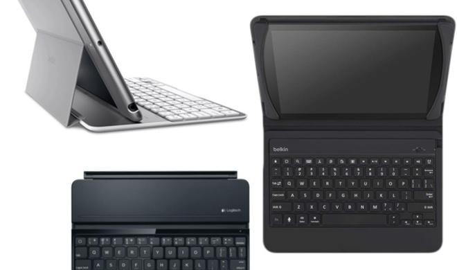 Hüllen und Tastaturen für das iPad Air: Logitech und Belkin kündigen neues Zubehör an