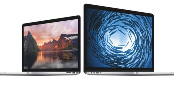 Apple veröffentlicht Software-Updates für Retina MacBook Pros, behebt Grafik- und Tastatur-Fehler