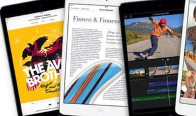 Retina iPad mini: Display hat kleineren Farbraum, ist der Konkurrenz unterlegen