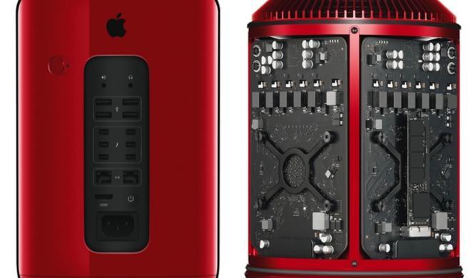 Sotheby's Auktion: Roter Mac Pro für 977.000 Dollar versteigert