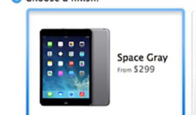 """iPad mini: Neue """"Spacegrau""""-Modellvariante in einigen Apple Stores bereits auf Lager"""