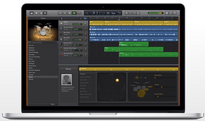 GarageBand für Mac exportiert wieder MP3-Dateien