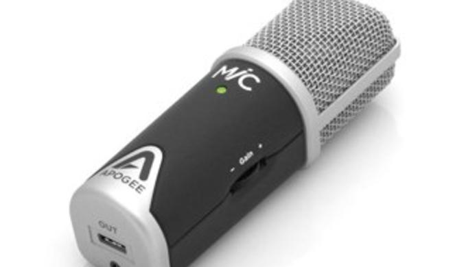 Apogee MiC: Kondensatormikrofon für Mac, iPhone und iPad im Test