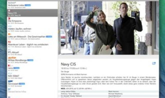 Live TV für Mac erschienen:Fernsehen am Mac über das Internet